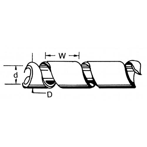 Tubos de Cable 60 mm 10.0 m Transparente