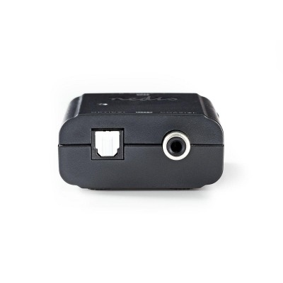 Convertidor De Audio Estéreo A Digital | 1 Toma - 2X Rca (Estéreo) | Rca Digital (S/pdif) + Toslink