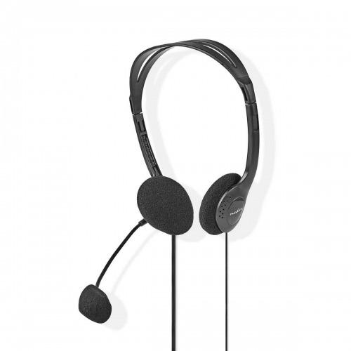 Auriculares para PC | Diadema | 2 Conectores de 3,5 mm | 2,0 m | Negro
