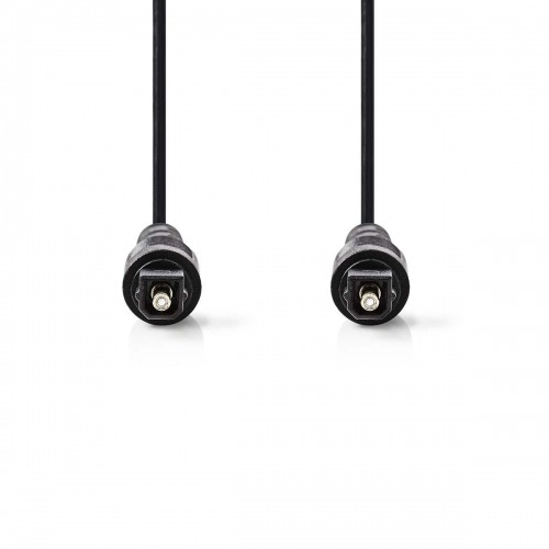 Cable de Audio Óptico   TosLink Macho - TosLink Macho   5,0 m   Negro