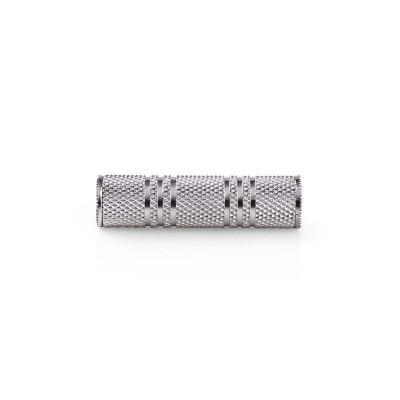 Adaptador De Audio Estéreo | Hembra De 3,5 Mm - Hembra De 3,5 Mm | Metal