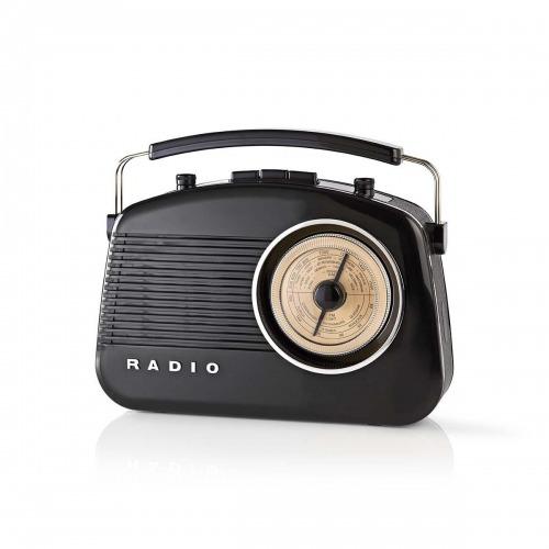 Radio FM   4,5 W   Asa de Transporte     Negro