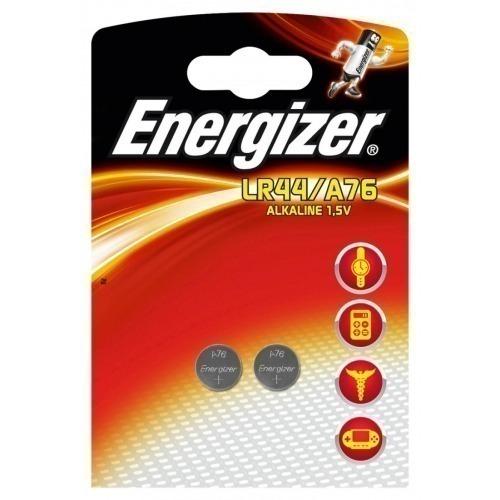 Alkaline battery A76/LR44 1.5V 2-blister