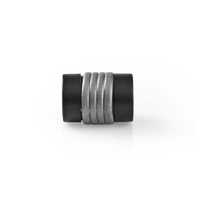 Adaptador De Audio Óptico   Toslink Hembra - Toslink Hembra   10 Unidades   Negro