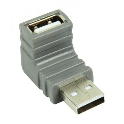 Adaptador USB 2.0 en ángulo de 270°
