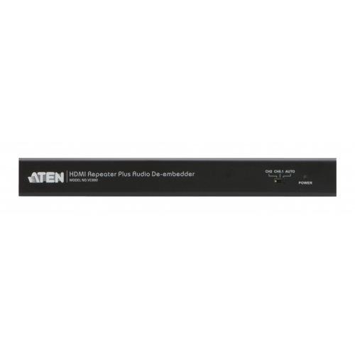Convertidor de HDMI Entrada HDMI - Salida HDMI + TosLink Hembra + 3x RCA Hembra