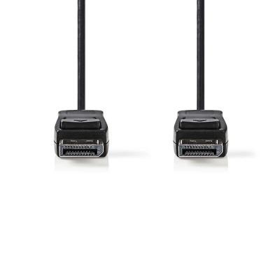 Cable Displayport | Displayport Macho - Displayport Macho | 2,0 M | Negro