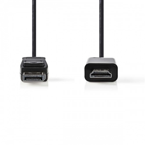 Cable DisplayPort - HDMI™ | DisplayPort Macho - Conector HDMI™ | 1,0 m | Negro