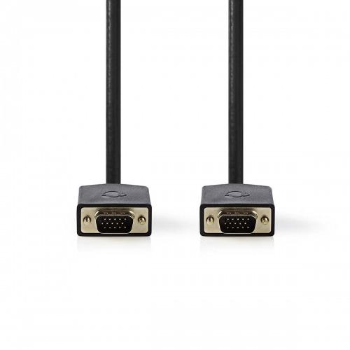 Cable VGA | VGA Macho - VGA Macho | 10 m | Antracita