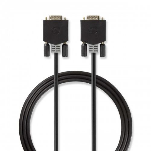 Cable VGA | VGA Macho - VGA Macho | 2,0 m | Antracita