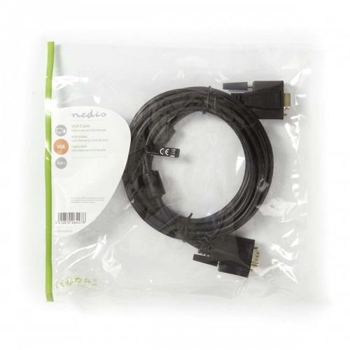 Cable VGA | VGA Macho - VGA Hembra | 3,0 m | Negro