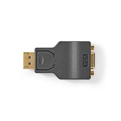 Adaptador Displayport - Vga | Displayport Macho - Vga Hembra