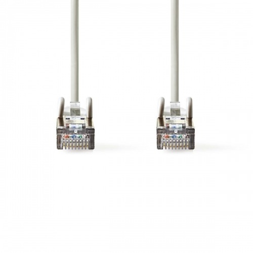 Cable de Red CAT5e SF/UTP | RJ45 Macho - RJ45 Macho | 0,15 m | Gris
