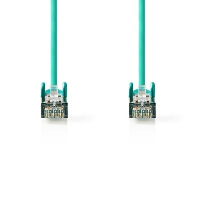 Cable De Red Cat5E Sf/utp | Rj45 Macho - Rj45 Macho | 0,25 M | Verde