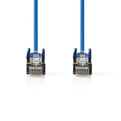 Cable De Red Cat5E Sf/utp | Rj45 Macho - Rj45 Macho | 0,25 M | Azul