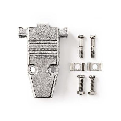 Carcasa Del Conector D-Sub | Apto Para D-Sub De 9 Pines | Metal