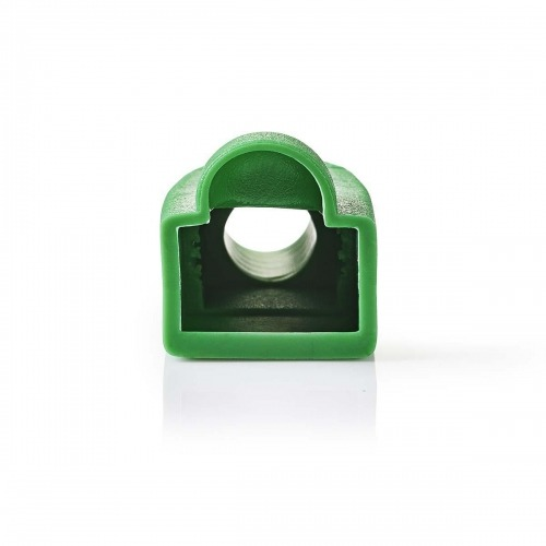 Funda Protectora contra Tirones | Para Conectores de Red RJ45 - 10 unidades | Verde