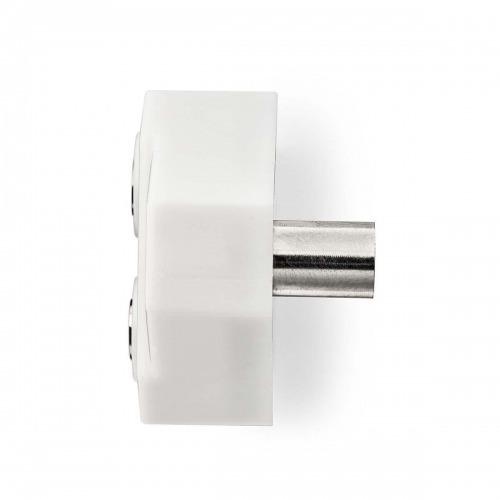Divisor coaxial | IEC (Coaxial) Macho - 2x IEC (Coaxial) Hembra | Blanco