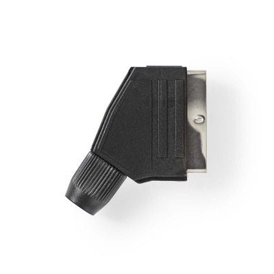 Conector Scart | Varón - Negro