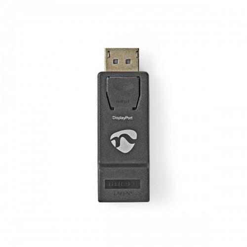 Adaptador DisplayPort-HDMI | DisplayPort Macho - HDMI Macho | Negro