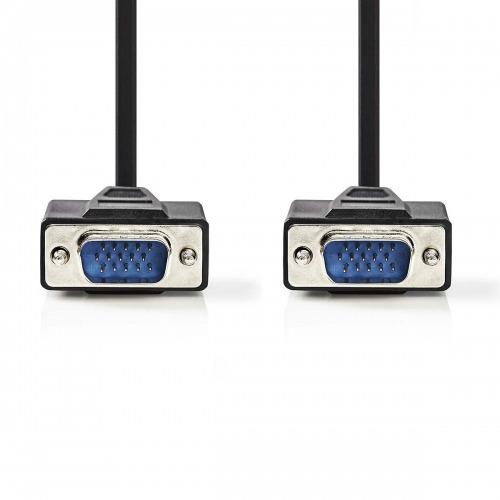 Cable VGA | VGA Macho - VGA Macho | 10 m | Negro