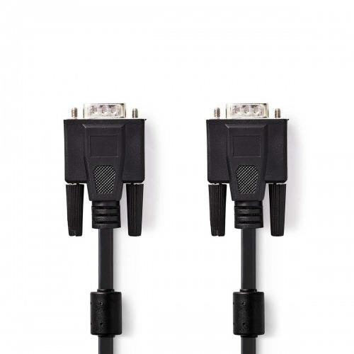 Cable VGA | VGA Macho - VGA Macho | 5,0 m | Negro