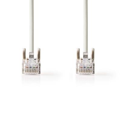 Cable De Red Cat5E Utp | Conector Rj45 (8P8C) Macho - Conector Rj45 (8P8C) Macho | 0,5 M | Gris
