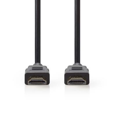 Cable Hdmi™ De Alta Velocidad Con Ethernet | Conector Hdmi™ - Conector Hdmi™ | 1,0 M | Negro