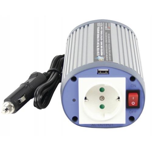 Inversor 24 - 230 V 150 W con USB