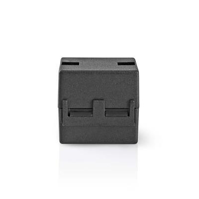 Filtro De Ferrita De Vídeo   300 Mhz   Para Diámetros De Cable De Hasta 12 Mm   25 Piezas   Negro