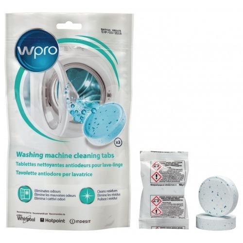 Pastillas limpiadoras Powerfresh para lavadoras, 3 pastillas