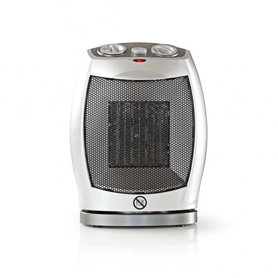 Calefactor de aire cerámico | 750 y 1500 W | Gris