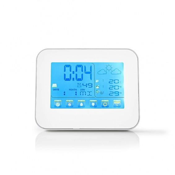 Estación Meteorológica | Sensor inalámbrico | Reloj despertador | Previsión meteorológica