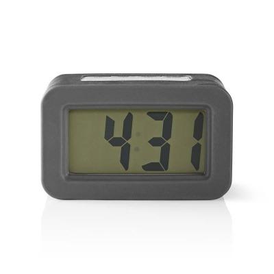 Reloj Despertador De Sobremesa Digital | Retroiluminación | Gris