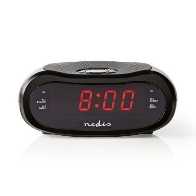 Radiodespertador Digital | Pantalla Led De 0,6