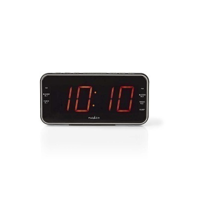 Radiodespertador Digital | Pantalla Led De 1,8