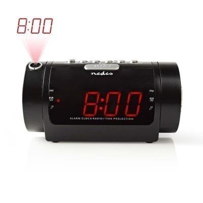 Radiodespertador Proyector Digital | Pantalla Led De 0,9