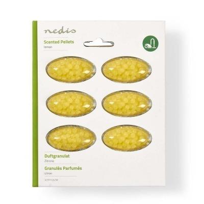 Perlas Perfumadas Para Aspiradora | Limón | 6 Piezas