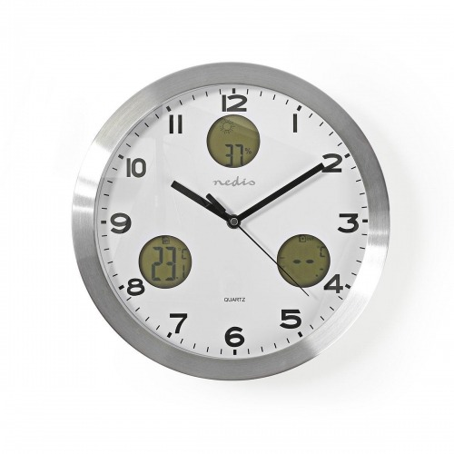 Reloj de Pared | Estación Meteorológica | Higrómetro | Unidad exterior