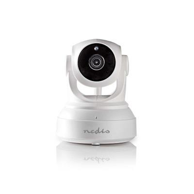 Cámara De Seguridad Ip | 1280X720 | Panorámica E Inclinación | Blanco