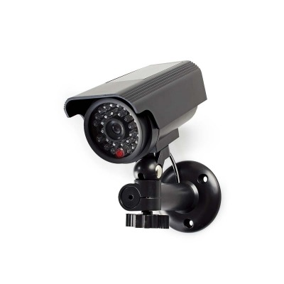 Cámara De Seguridad Simulada | Tubular | Ip44 | Negro
