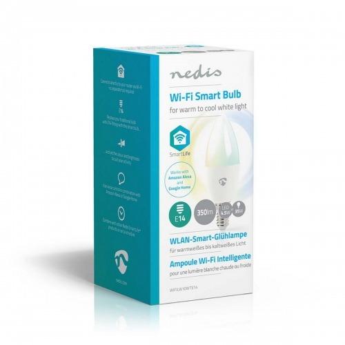 Bombilla LED Inteligente con Wi-Fi | Blanco Cálido a Frío | E14