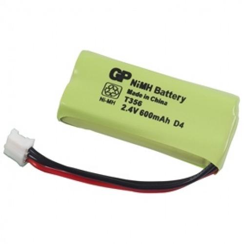 Batería para teléfono inalámbrico NiMH 2.4 V 600 mAh