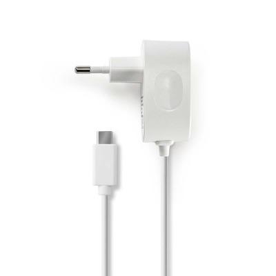 Cargador De Pared   3,0 A   Cable Fijo   Usb-C™   Blanco