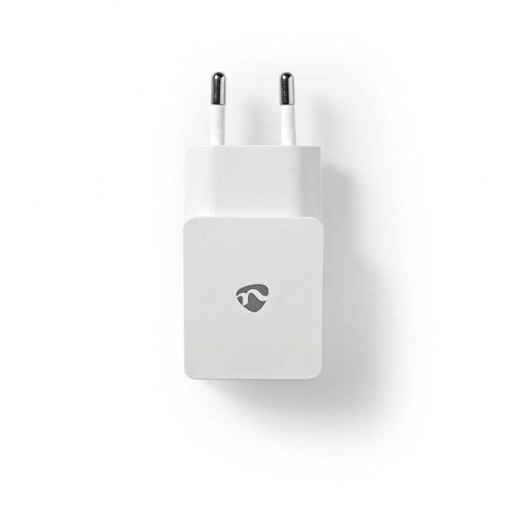 Cargador de Pared | 2,1 A | Cable suelto | Micro USB | Blanco