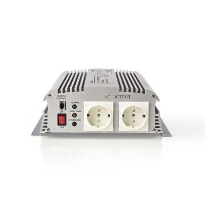 Inversor De Potencia De Onda Sinusoidal Modificada | 12 V De Cc - 230 V De Ca | 1700 W | 2X Salidas Schuko