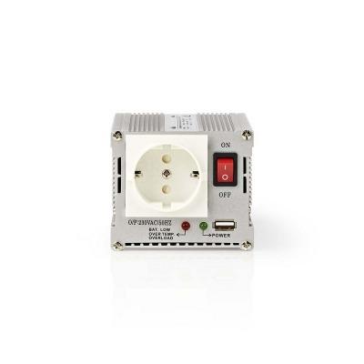 Inversor De Potencia De Onda Sinusoidal Modificada | 12 V De Cc - 230 V De Ca | 300 W | 1X Conector Schuko | 1X Salida Usb