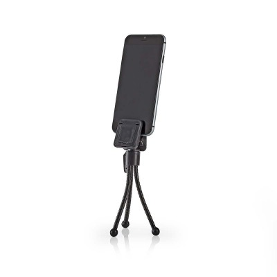 Minitrípode Para Smartphone | 15,8 Cm | Negro | 4