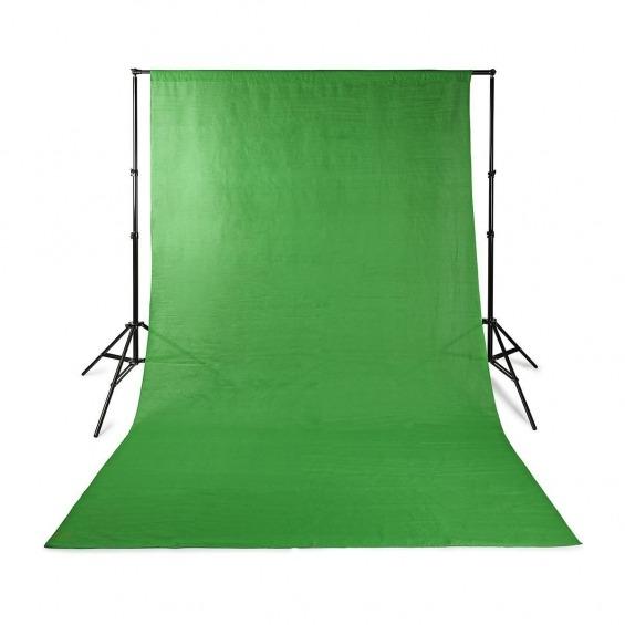 Fondo de Estudio Fotográfico | • 2,95 x 2,95 m | Verde