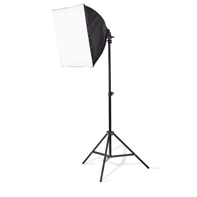 Kit De Luz De Estudio Fotográfico | 2X 70 W | 5500 K | 180 Cm De Altura | Plegable